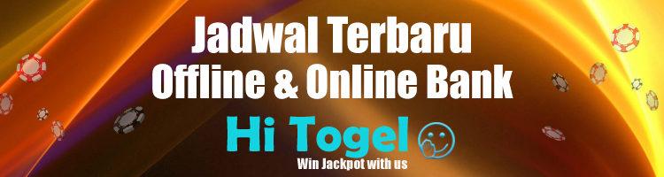 Jadwal Terbaru Offline & Online Bank Hitogel